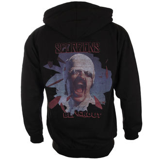 mikina pánská Scorpions - Black Out - PLASTIC HEAD - PH9869HSWZ