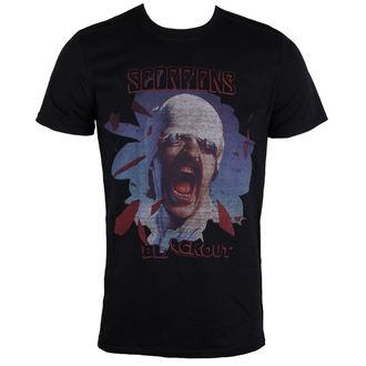 tričko pánské Scorpions - Black Out - PLASTIC HEAD - PH9869