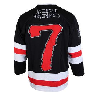 tričko pánské s 3/4 rukávem (dres) Avenged Sevenfold - RED 7 - BRAVADO, BRAVADO, Avenged Sevenfold