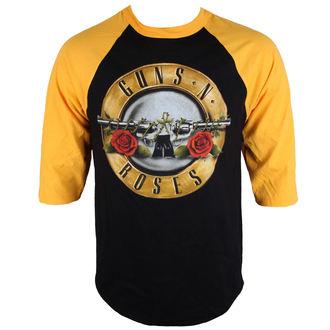 tričko pánské s 3/4 rukávem Guns N' Roses - BULLET - BRAVADO, BRAVADO, Guns N' Roses