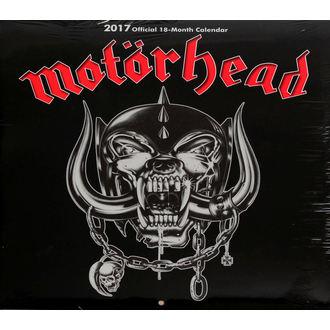 kalendář na rok 2017 Motörhead - CURP002