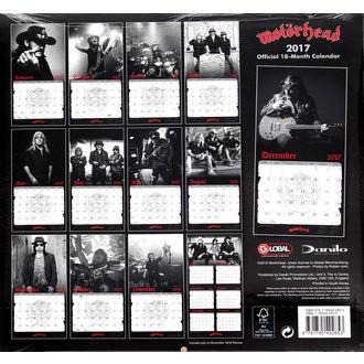 kalendář na rok 2017 Motörhead, Motörhead