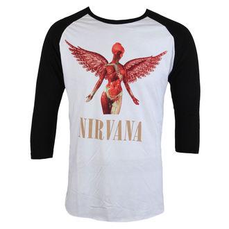 tričko pánské s 3/4 rukávem Nirvana - In Utero - PLASTIC HEAD, PLASTIC HEAD, Nirvana