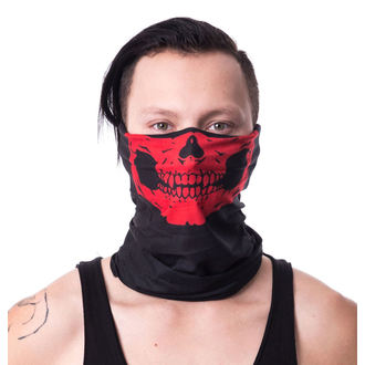 šátek (maska) POIZEN INDUSTRIES - SM1 SNOOD - RED, POIZEN INDUSTRIES