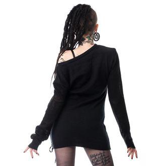 svetr (tunika) dámský HEARTLESS - DROPOUT - BLACK