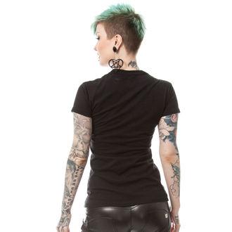 tričko dámské POIZEN INDUSTRIES - BONE CORSET T - BLACK, POIZEN INDUSTRIES