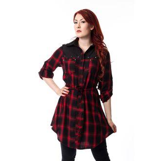 šaty dámské HEARTLESS - EMILY - RED - POI052