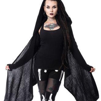 svetr dámský (cardigan) HEARTLESS - LAZARUS - BLACK - POI185