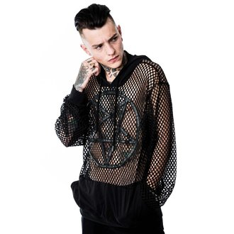 mikina (unisex) KILLSTAR - Omen Fishnet, KILLSTAR