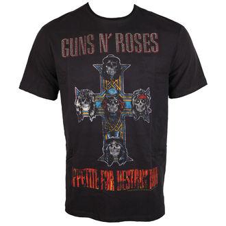 tričko pánské Guns N' Roses - CLASSIC DIAMANTE - AMPLIFIED - AV210APS