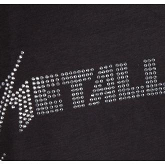 tílko pánské METALLICA - SILVER LOGO DIAMONTE - AMPLIFIED, AMPLIFIED, Metallica