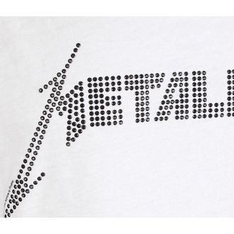 tílko pánské METALLICA - LOGO WHITE - AMPLIFIED, AMPLIFIED, Metallica