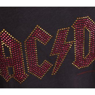 tílko pánské AC/DC - LOGO CHARCOAL - AMPLIFIED, AMPLIFIED, AC-DC