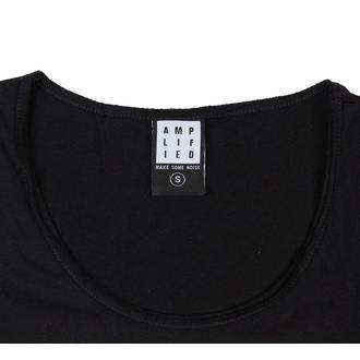 tričko dámské KISS - CLASSIC LOGO DISTRESSED - AMPLIFIED