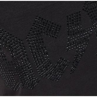 tričko dámské AC/DC - LOGO CHARCOAL BLACK - AMPLIFIED, AMPLIFIED, AC-DC
