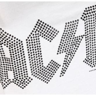 tílko dámské AC/DC - CLASSIC LOGO WHITE - AMPLIFIED