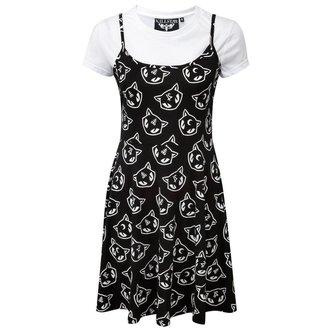 šaty dámské KILLSTAR - Kitty Kult Purr Grunge - KIL432