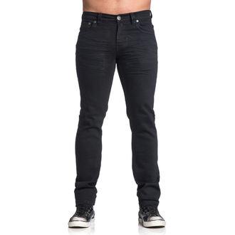 kalhoty pánské AFFLICTION - Gage Rising - Black, AFFLICTION
