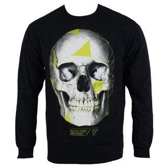 tričko pánské s dlouhým rukávem  IRON FIST - Black - IAM005185