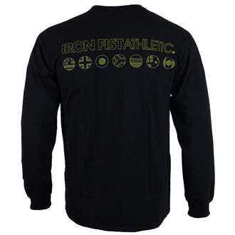 tričko pánské s dlouhým rukávem  IRON FIST - Black, IRON FIST