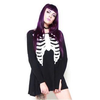 šaty dámské IRON FIST - Wishbone Trapeze - IFW004850_Black