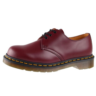 boty Dr. Martens - 3 dírkové - DM 1461 59 - CHERRY RED SMOOTH, Dr. Martens
