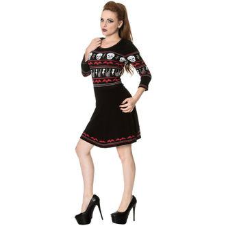 šaty dámské s dlouhým rukávem BANNED, BANNED
