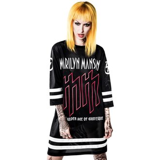 tričko unisex (dres) KILLSTAR x MARILYN MANSON - Use Your Fist Hockey Team, KILLSTAR, Marilyn Manson