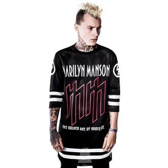 tričko unisex (dres) KILLSTAR x MARILYN MANSON - Use Your Fist Hockey Team, KILLSTAR, Marilyn Manson