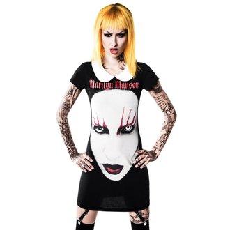 šaty dámské KILLSTAR x MARILYN MANSON - Spell Master Suspender, KILLSTAR, Marilyn Manson