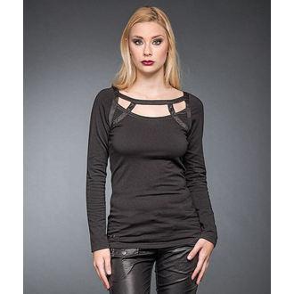 tričko dámské s dlouhým rukávem QUEEN OF DARKNESS, QUEEN OF DARKNESS