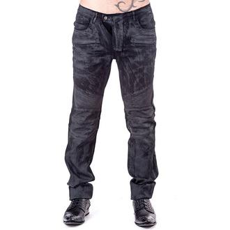 kalhoty pánské QUEEN OF DARKNESS - Black, QUEEN OF DARKNESS