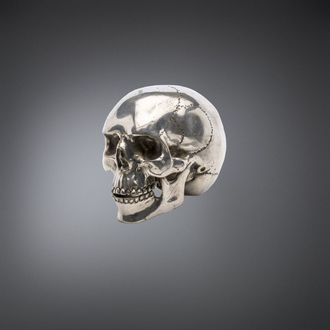dekorace QUEEN OF DARKNESS - Metal Skull