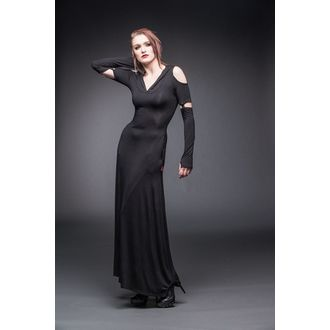 šaty dámské QUEEN OF DARKNESS - Black - DR1-178/12