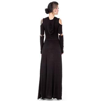 šaty dámské QUEEN OF DARKNESS - Black