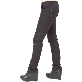 kalhoty dámské (zimní) QUEEN OF DARKNESS - Black, QUEEN OF DARKNESS