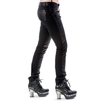 kalhoty dámské QUEEN OF DARKNESS - Black
