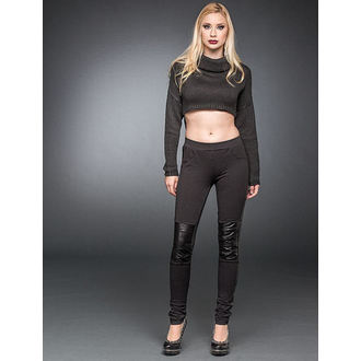 kalhoty dámské (leginy) QUEEN OF DARKNESS - Black