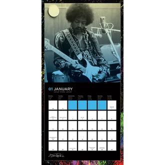 kalendář Jimi Hendrix 2017