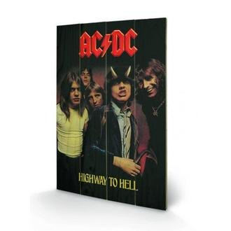 dřevěný obraz AC/DC - Highway to Hell - SW10325P