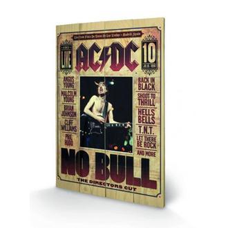dřevěný obraz AC/DC - No Bull - SW10324P
