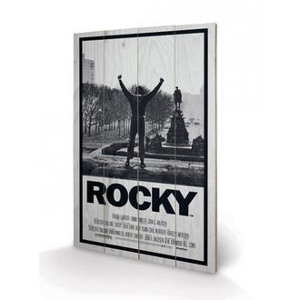 dřevěný obraz Rocky I, PYRAMID POSTERS