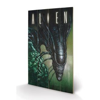 dřevěný obraz Alien (Vetřelec) - Creep - Pyramid Posters, PYRAMID POSTERS, Alien - Vetřelec