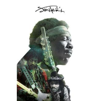 plakát Jimi Hendrix - Double Exposure, PYRAMID POSTERS, Jimi Hendrix