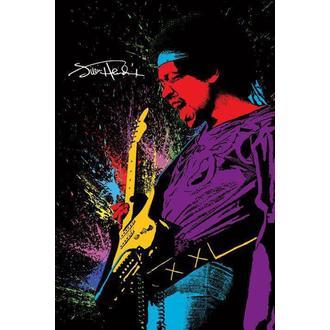 plakát Jimi Hendrix - Paint, PYRAMID POSTERS, Jimi Hendrix