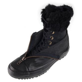 boty dámské zimní CONVERSE - CTAS Hi Rise Boot Shroud - BLK/BLK/BLK, CONVERSE