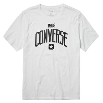 tričko pánské CONVERSE - ATHLETIC GRAPHIC - wht - 10002155-102