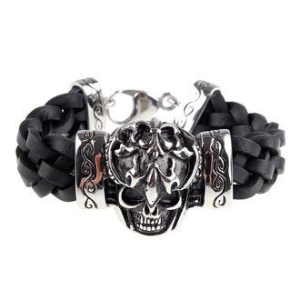náramek ETNOX - skull, ETNOX