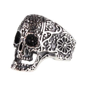 prsten ETNOX - Ornament Skull - SR1160