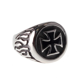 prsten ETNOX - Black Iron Cross - SR1140
